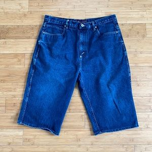 Phat farm wide leg Jean shorts